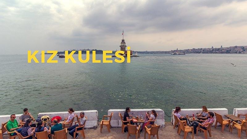 istanbulda ilk buluşmada gidilecek yerler kız kulesi